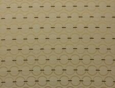"SUNBRELLA 73012 PANGO CREAM GEOMETRIC CIRCLES OUTDOOR FABRIC BY THE YARD 54""W"