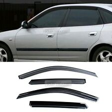 Smoke Sun Vent Visors Window Rain Guard for HYUNDAI 2002-2006 Elantra Hatchback