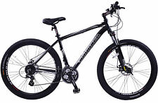 "TEAM 3.0 MENS MOUNTAIN BIKE 29"" WHEEL 21"" ALLOY FRAME 24 SPEED FRONT SUSPENSION"