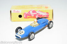 SOLIDO DALIA 116 COOPER RACING CAR F1 BLUE EXCELLENT BOXED RARE SELTEN RARO