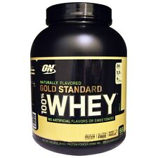 OPTIMUM NUTRITION GOLD STANDARD 100% Whey Protein, Natural Vanilla 4.8 lbs