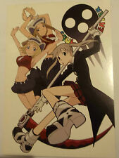 SOUL EATER Carte postale Maka Albarn / sœurs Thompson ,180 x135 , Vends Cartes