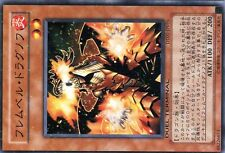 Ω YUGIOH Ω NORMAL PARALLELE DT01-JP016 Flamvell Dragnov