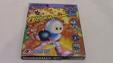 Bomberman '93 TurboGrafx-16 TG16 Game Complete in Box CIB Tested