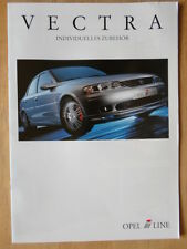 IRMSCHER OPEL Vectra 1999 German Mkt brochure prospekt - Vauxhall related