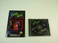 SEWER SHARK - Sega CD - Game Disc & Manual - TESTED - !!!!!