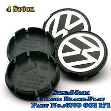 Satz von 55mm Nabenkappen Felgenkappen Radkappen für ☆ Volkswagen ☆6N0 601 171☆