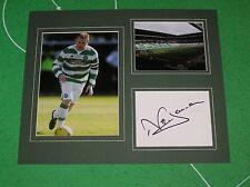 Neil Lennon Signed Glasgow Celtic FC Mount