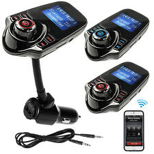 Bluetooth Handsfree FM Transmitter Car Kit LCD MP3 Music Player USB SD Modulator