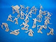 MARX toy soldiers WWII Japanese 1/32nd figures 25 in all 12 poses Tan