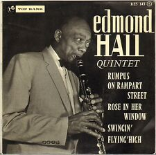 "EDMOND HALL ""RUMPUS ON RAMPART STREET"" 60'S EP TOP RANK 143 JIMMY RANEY !"