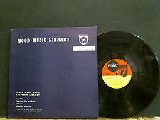EMBER MOOD MUSIC LIBRARY  Tavelin' Light  L.P. Guy Granada    Library   EX !