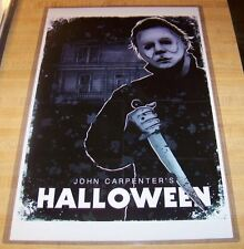 John Carpenter's Halloween Michael Myers 11X17 Poster