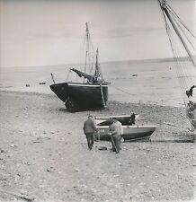 SAINT-BRIEUC c. 1950 - Bateaux à Marée Basse Côtes d'Armor - DIV 5108