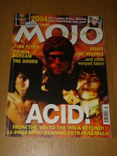 MOJO 2004 FEBRUARY PINK FLOYD U2 PRIMAL SCREAM DOORS