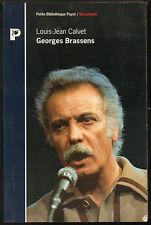 Georges Brassens par Louis-Jean Calvet