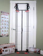 Tower 200 BODY BY JAKE Full Fitness Home Gym + FREE Straight Bar + DVD NEW BOXED