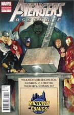 AVENGERS ASSEMBLE 1 RARE EXCLUSIVE VARIANT MIDTOWN HAMMER PROMO COVER THOR HULK