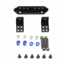 Alloy Rear Shock Support DIY Mount Set Black for Axial SCX10 RC Crawler