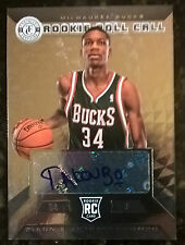 2013-14 TOTALLY CERTIFIED GIANNIS ANTETOKOUNMPO ROLL CALL SP ROOKIE AUTO RED HOT