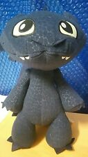 Toothless How To Train Your Dragon Plush Stuffed Animal Sounds Growl Spin Master