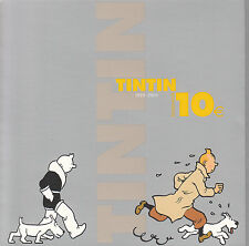 pièce de 10 EUROS TINTIN 75 ans
