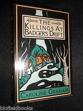 SIGNED; Caroline Graham - Killing at Badger's Drift - 1988-1st, Midsomer/Barnaby