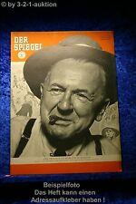 Der Spiegel 27/54 30.6.1954 Maler von Teufeln und Dämonen : George Grosz