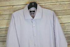 NEW Hugo Boss SHARP FIT dress shirt 17 32 / 33 Purple #124