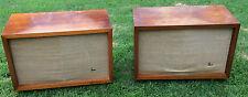 Vintage James Lansing JBL C40 Harkness Lowboy Speakers D130A 175DLH N1200