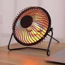 4 inch Mini Electric Fan Heater Home Office Desktop Heating Tool Winter Warmer