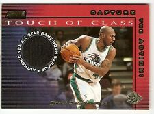 JERRY STACKHOUSE ALL-STAR JERSEY 2001-02 TOPPS STADIUM CLUB CAPTURE THE ACTION