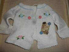 NEU: Shabby-Vintage Jäckchen, 100 % Handarbeit für ca.30 cm Bär oder Puppe