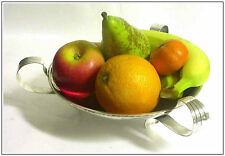 Arts & Crafts Solid Sterling Silver Fruit Bowl London HM 1938 by NRGP Fantastic