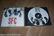 SFC Soldiers For Christ 1989 CD Listen Up Christian Hip Hop Rap