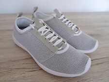 ZARA MINK & WHITE ULTRALIGHT MESH FLAT SNEAKERS TRAINERS SIZE UK 5 EU 38 USE 7,5