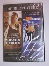 DOUBLE FEATURE - CHEATIN' HEARTS / THE BIG EMPTY ( DVD 2003) RARE SET BRAND NEW