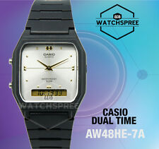 Casio Analog Digital Dual Time Watch AW48HE-7A