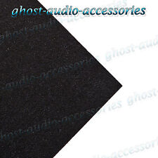 Black Acoustic Trunkline Carpet / Cloth for Car Van