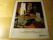PUBBLICITA' ADVERTISING WERBUNG 1991 SUPERGA CALZATURE (G51)