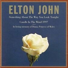 Elton John ‎CD Single Something About The Way You Look Tonight / Candle In