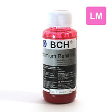 BCH Premium 100 ml Light Magenta Sublimation Pigment Ink for Epson (IS100LM-AE)