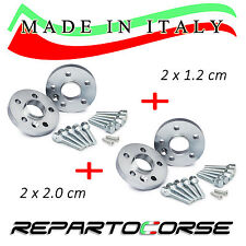 KIT 4 DISTANZIALI 12+20mm REPARTOCORSE VOLKSWAGEN GOLF VI 6 (517) MADE IN ITALY