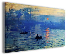 Quadro moderno Claude Monet vol XX stampa su tela canvas pittori famosi