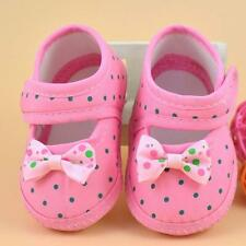 Hot Cute Little Girls Casual Shoes Baby Bowknot Boots Soft Crib Shoes Gifts Lot
