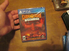Carmageddon: Max Damage PS4 Sony PlayStation 4, 2016 NEW FACTORY SEALED