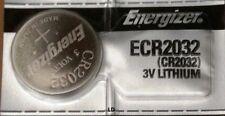 Energizer ECR2032 CR 2032 Lithium 3V Battery Braned New Authorized Seller
