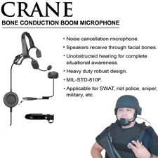 CRANE Q-Release Bone Conduction Headset for Motorola PRO EX GL GP PTX (See List)