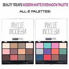 Beauty Treats MATTE Eyeshadow Palettes- Full Size 24 Modern Matte Colors