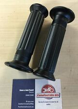 "Doherty Replica Handlebar Grips 7/8"" Triumph Norton Cafe Racer,Free Uk Postage"